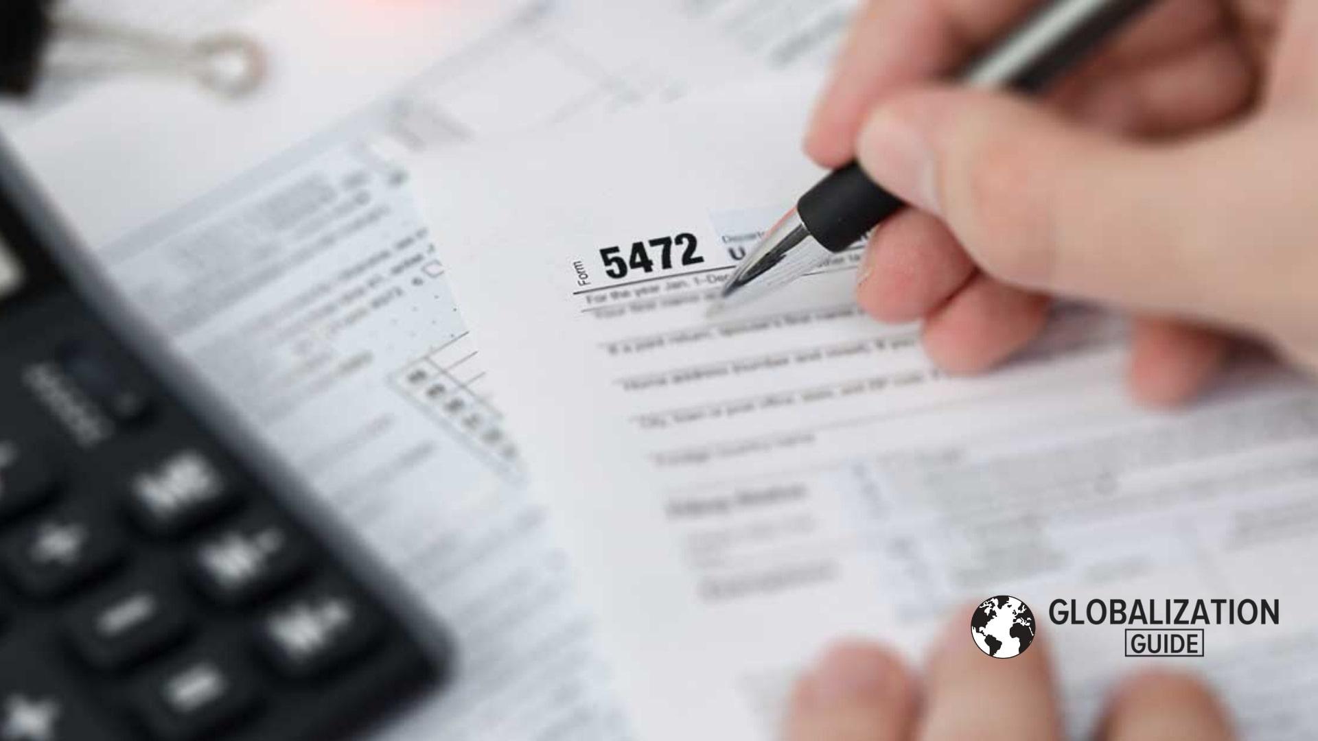 IRS form 5472 preparation