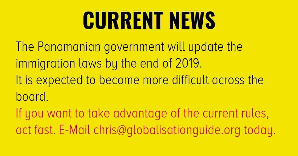 Panama Residency Visa Updates News
