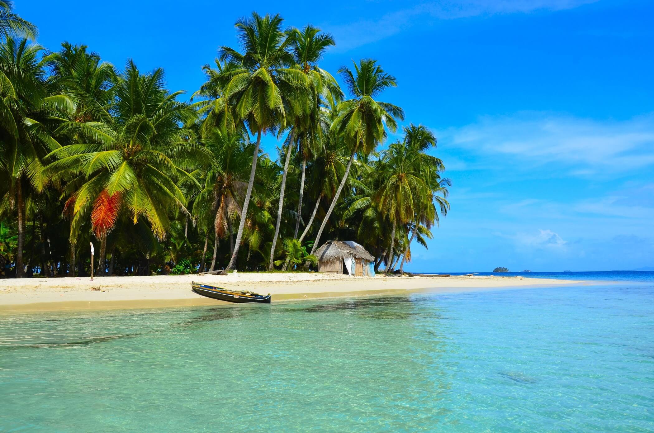 Isla de San blas panama