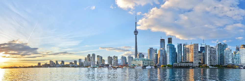 Paisaje residencia toronto Canada regla de los 183 dias