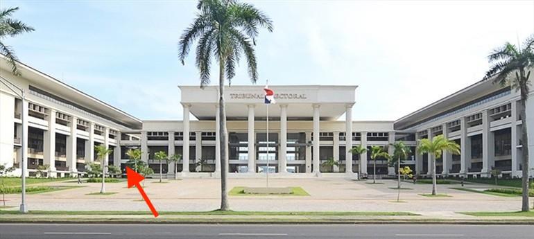Edificio oficina del Tribunal Electoral Panama