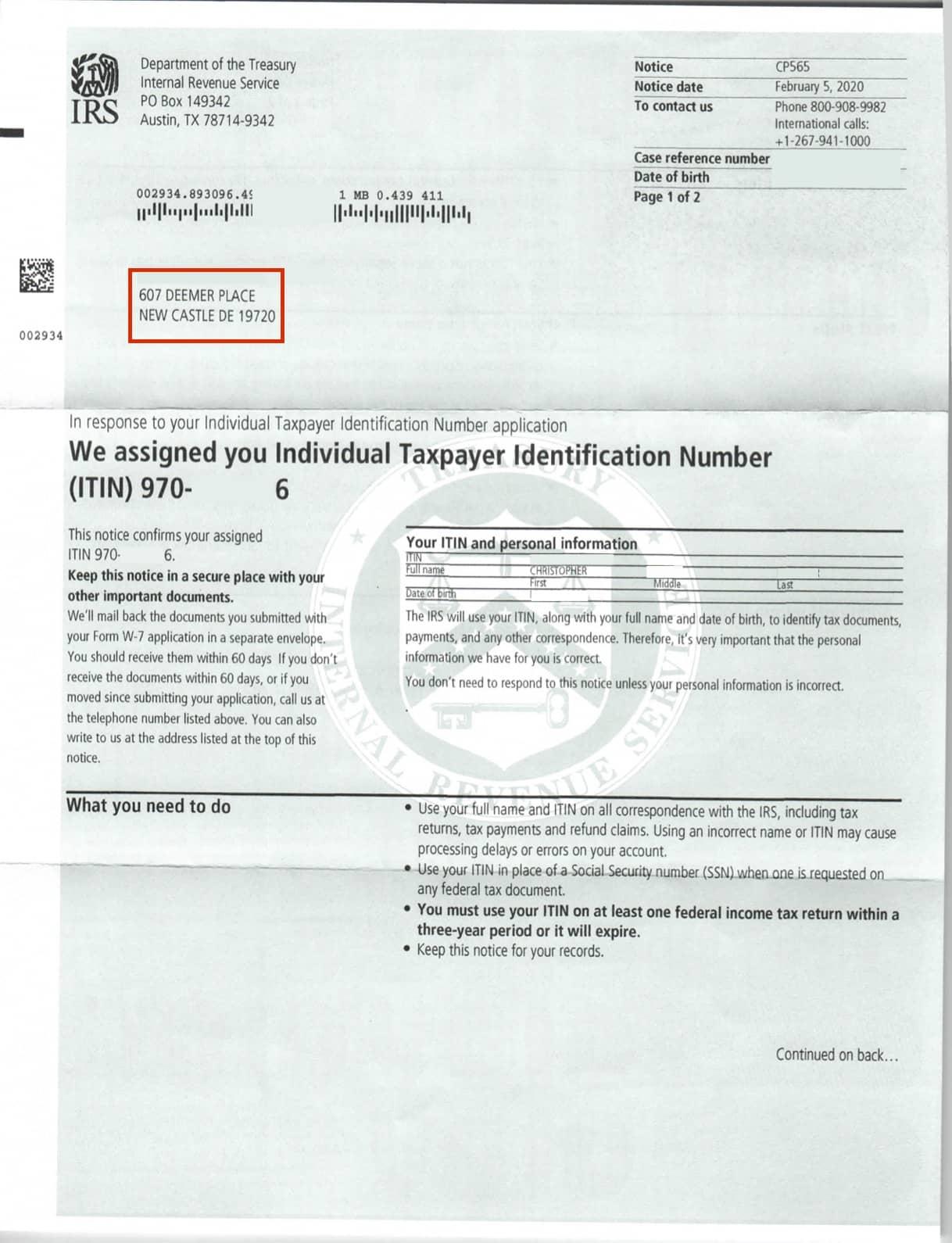 resultados-ITIN-IRS-primera-pagina