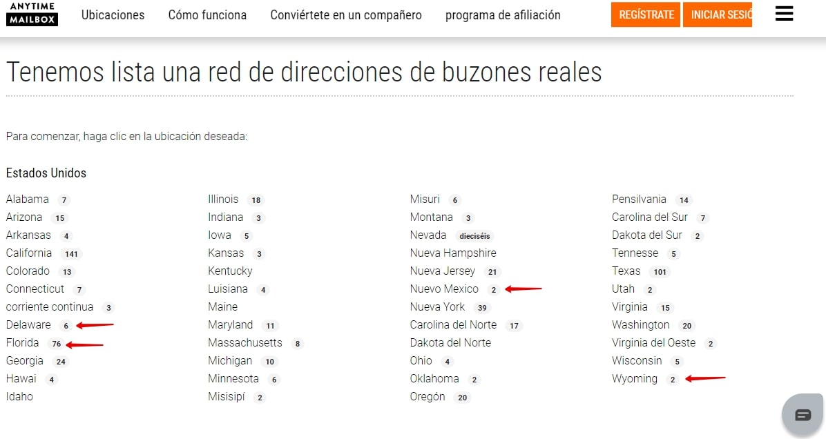 direcciones-disponibles-anytimemailbox-usa-llc