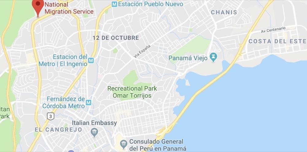 Servicio Nacional de Migracion Panama
