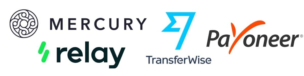 mercury-bank-transferwise-payoneer-relay-logo-banner-online-banking